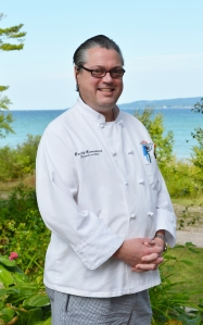 Executive Chef - Britt Beaumont of Stafford's Pier Restaurant in Harbor Springs, MI.