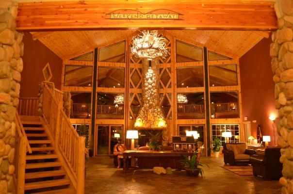 CRLS Lobby at Night