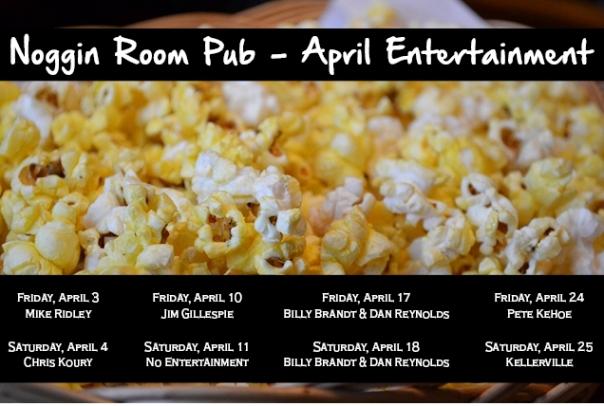 april entertainment