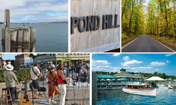 harbor springs collage with no words