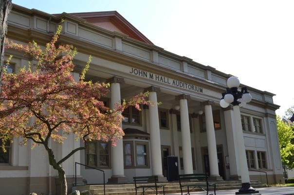 (69) Vespers concert at John M. Hall Auditorium