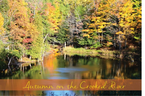 autumn on the crooked river