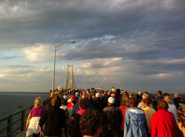Bridge walk 1 - 2014