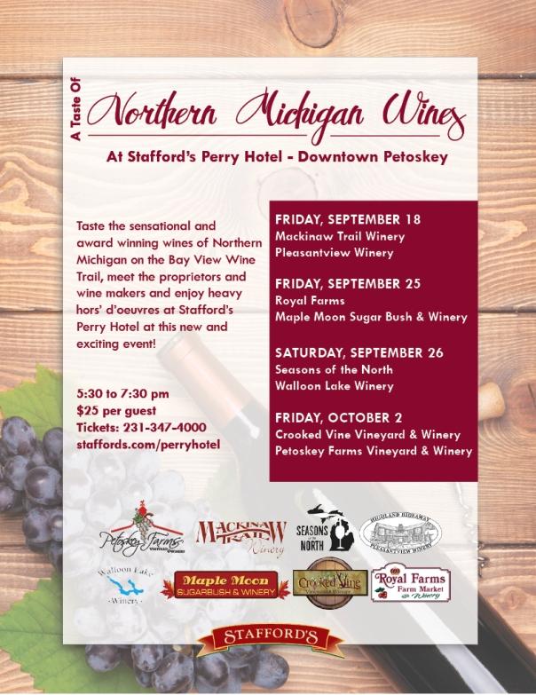 northern michigan wines flyer